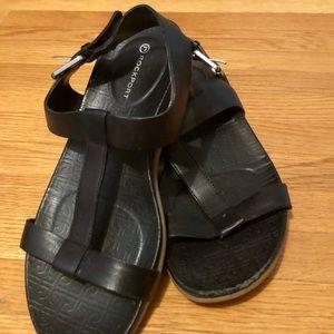 Rockport sandals.